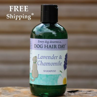 Dog Hair Day Lavender & Chamomile dog shampoo